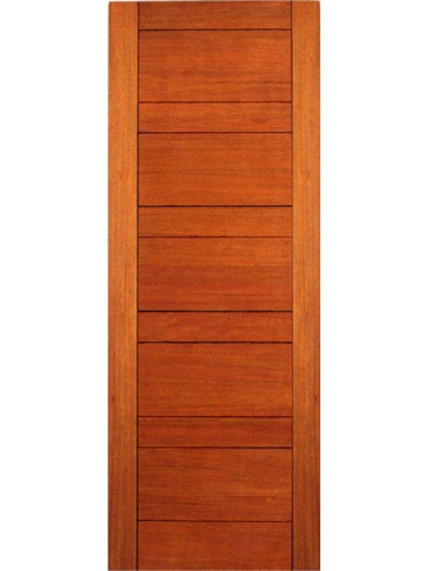 Rb 01 Interior Mahogany Contemporary Modern Single Door Single