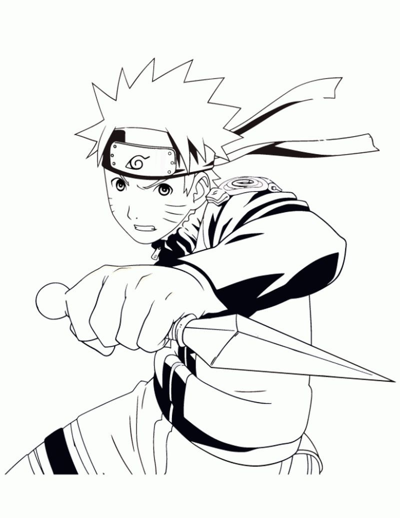 Naruto Coloring Pages Free Art Coloring pages to print