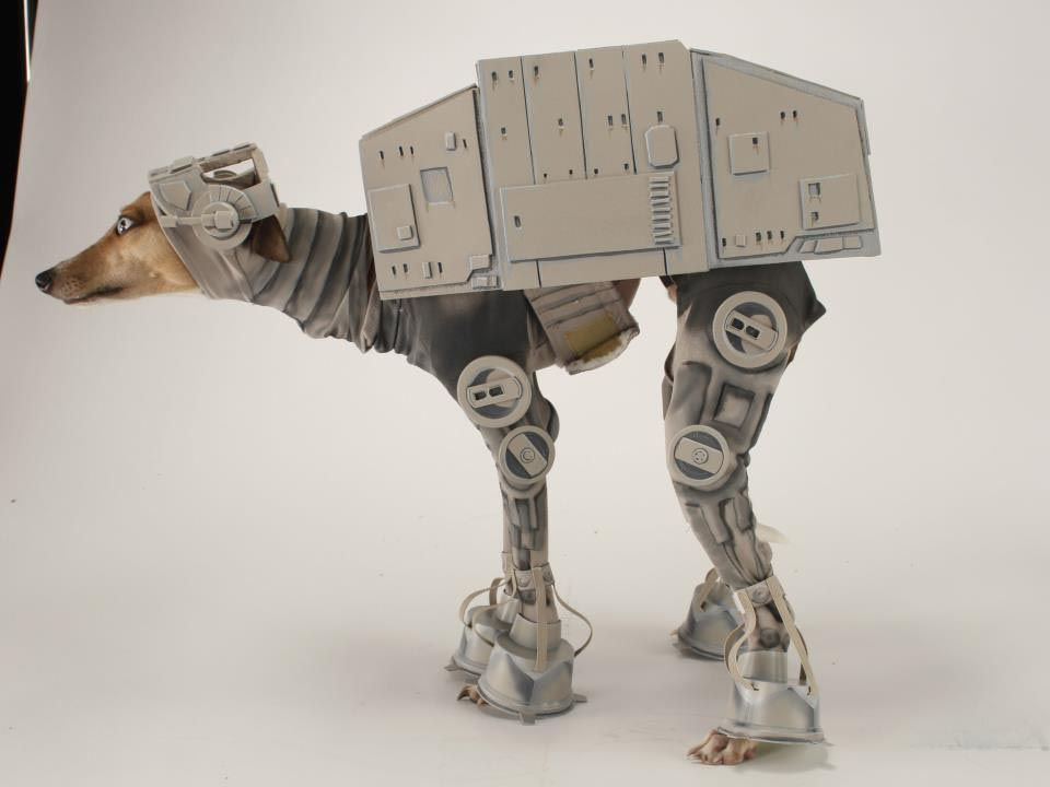 star wars atat dog costume