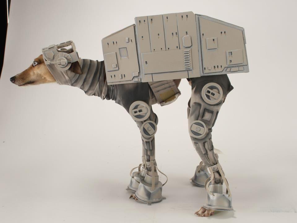 Star Wars AT-AT Dog Costume & Star Wars AT-AT Dog Costume | Pinterest | Costumes Dog and Star