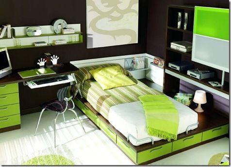 Dormitorios Modernos para Jovenes.jpg10 | ALCOBAS | Pinterest ...