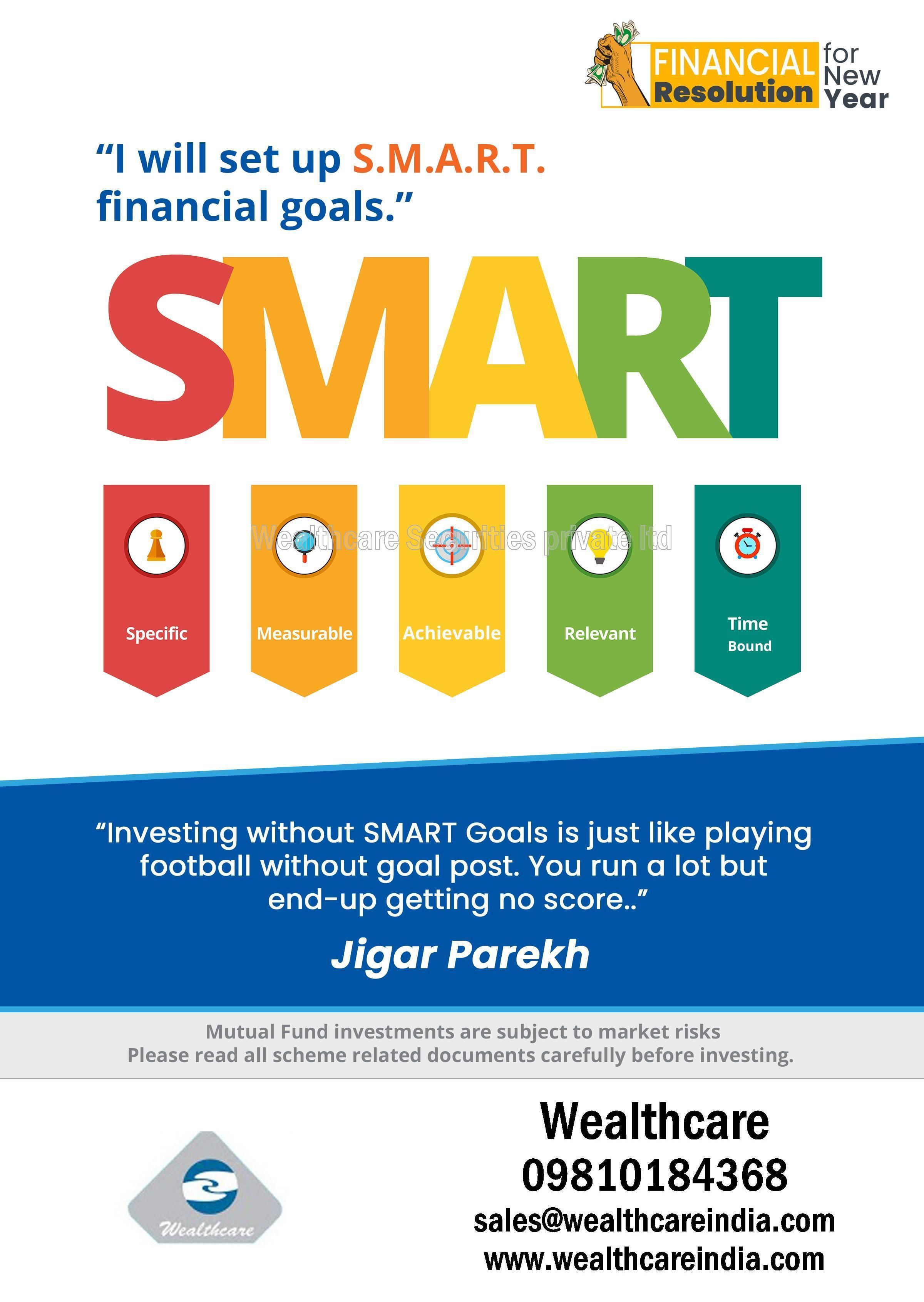 Setting S M A R T Financial Goals Forces Us To Become Accountable