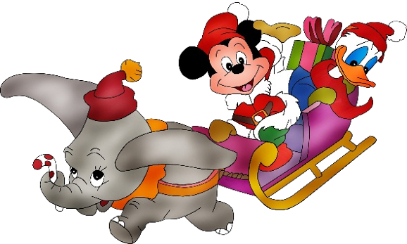 christmas disney dumbo mickey mouse donald duck disney rh pinterest co uk disney christmas clipart black and white disney christmas clip art images