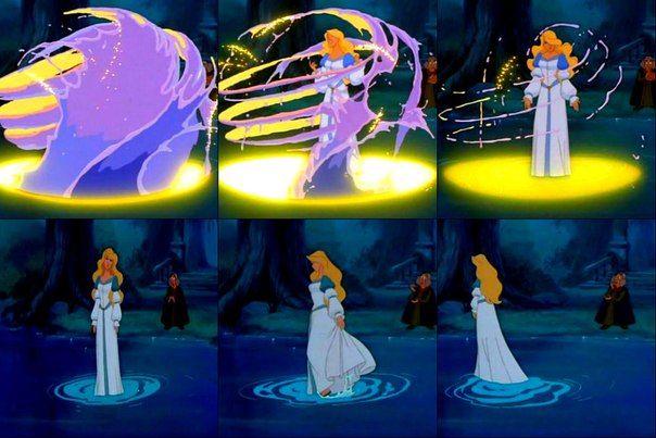 картинки принцессы лебедь