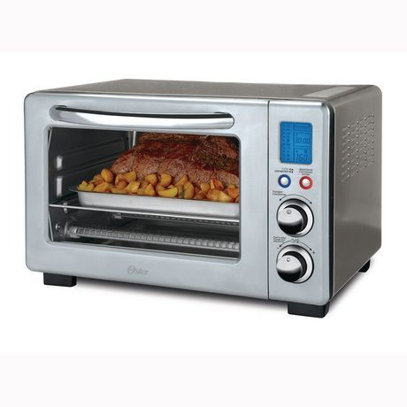 Oster 6 Slice Digital Countertop Oven With Convection Stainless