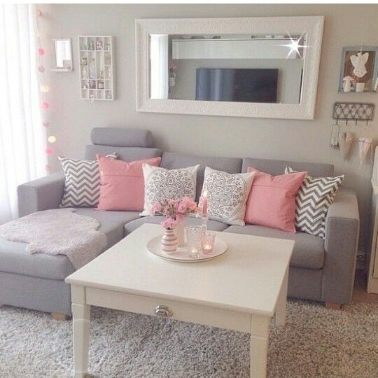 Cute Colors -- well, this is adorable! Our first home Pinterest