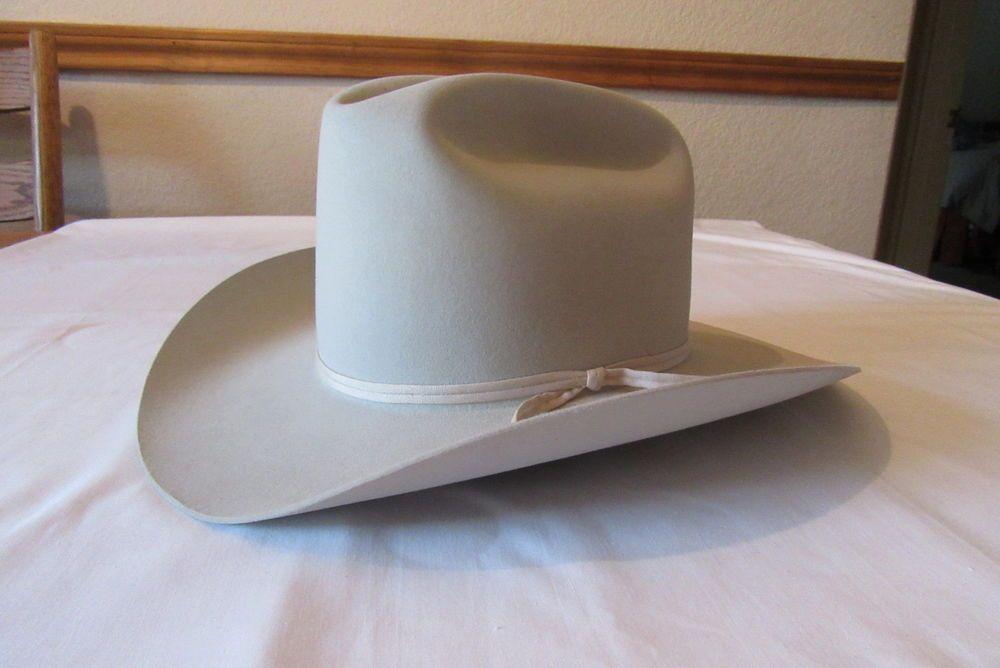 481b651d Resistol 7x Beaver Cowboy Hat 7 3 8 Cattleking Mist Color | eBay ...