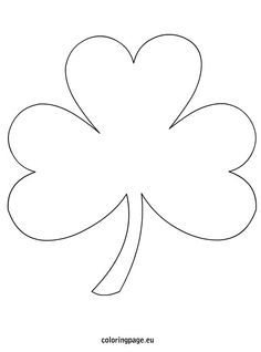 Shamrock Coloring Page Free From Coloringpage Eu Lots Of Free