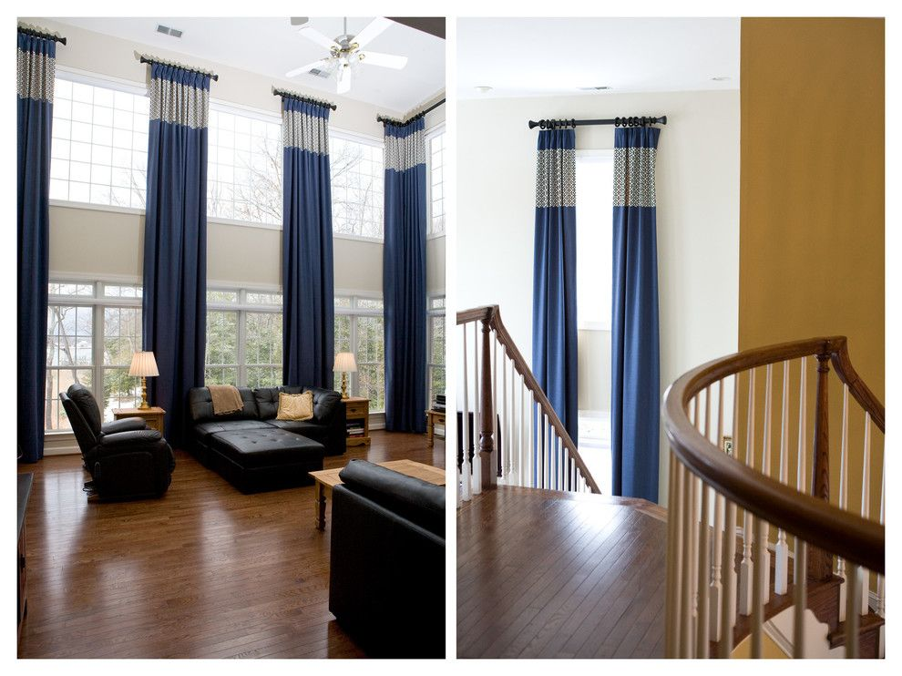 Living Room 2 Windows 2 story window treatments | posts related to two story window