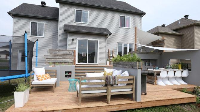 Le bureau extérieur de Cynthia - 2 (patio, terrasse) deco ext - pave pour terrasse exterieur