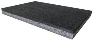 Acousti Poly 1 Inch Charcoal With Black Face Sound Dampening Sound Custom Color