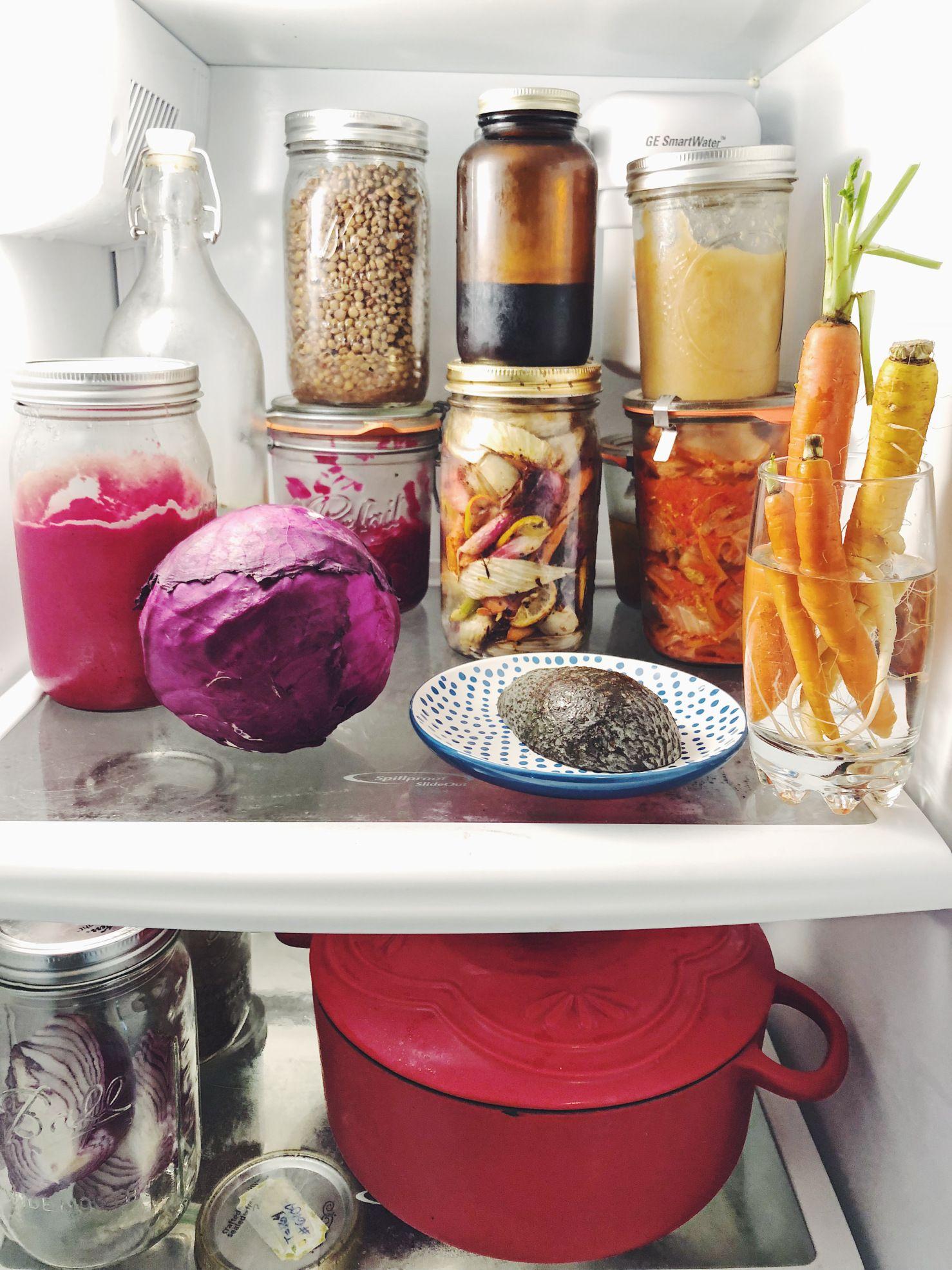 zero waste fridge food food storage recipe organization on kitchen organization zero waste id=91881