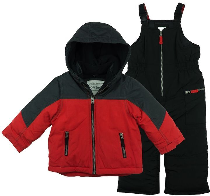 f86a825a4 Boys 4-7 Carter s Colorblock Jacket   Bib Snowpants Snowsuit Set ...