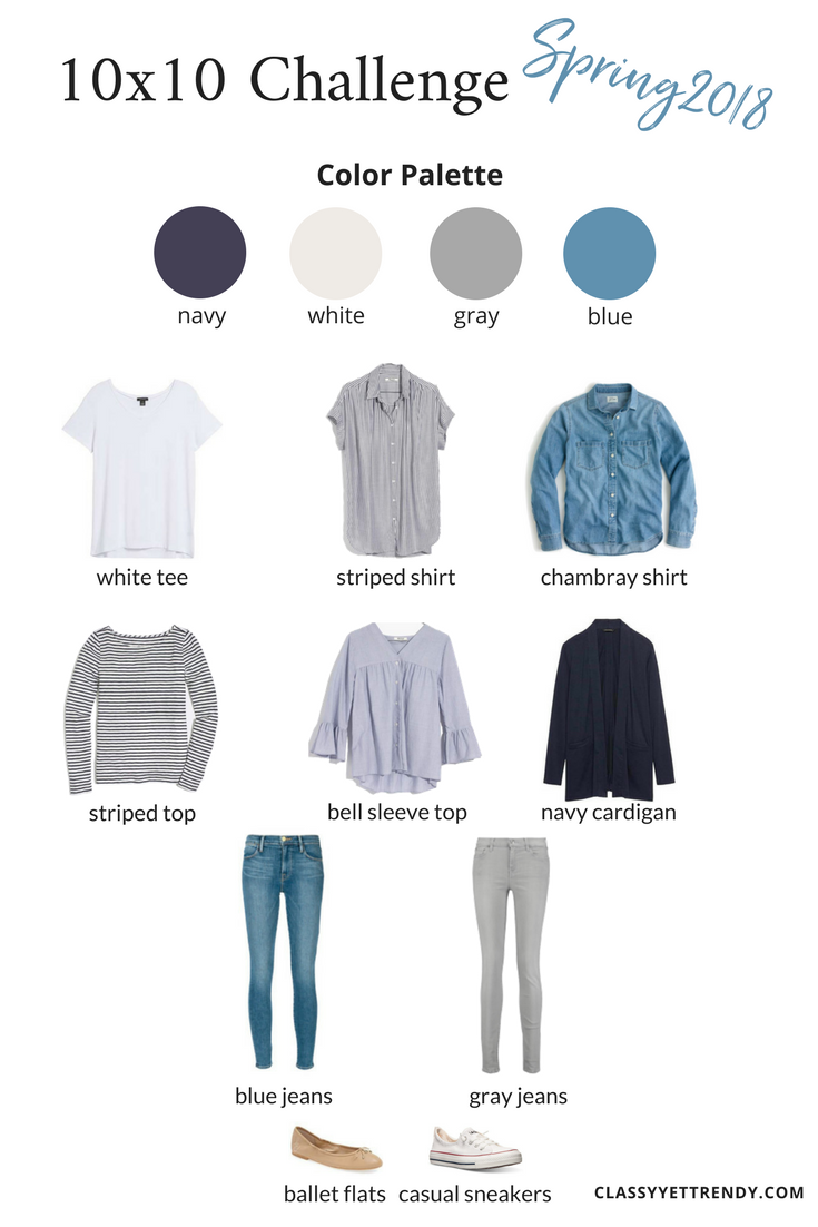 It S Time For Another 10 10 Capsule Wardrobe Challenge This Is My 3rd Time Participating In The 10 Spring Capsule Wardrobe Classy Yet Trendy Capsule Wardrobe