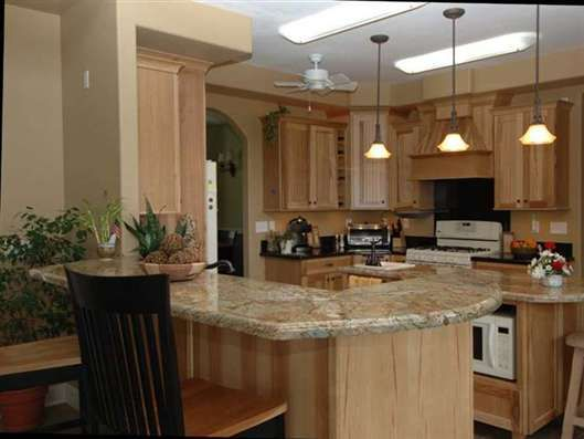 Kitchen Cabnits Hickery  Kitchen Cabinets & Design  For The Home Enchanting How To Design Kitchen Cabinets Inspiration