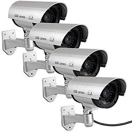 Fake Cameras For Outdoor Dummy Camera Cctv Surveillance System With Realistic Red Blinking Lights And War In 2020 Dummy Security Camera Dummy Camera Cctv Surveillance
