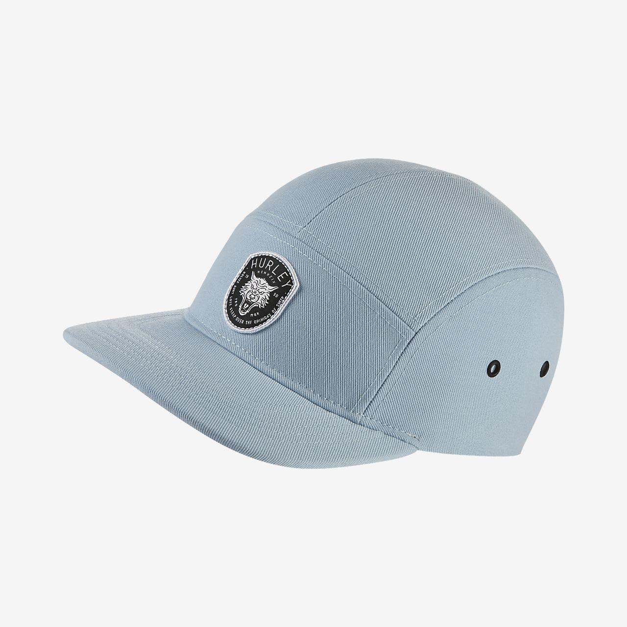 Hurley coastal wolf drifit unisex adjustable hat fitted