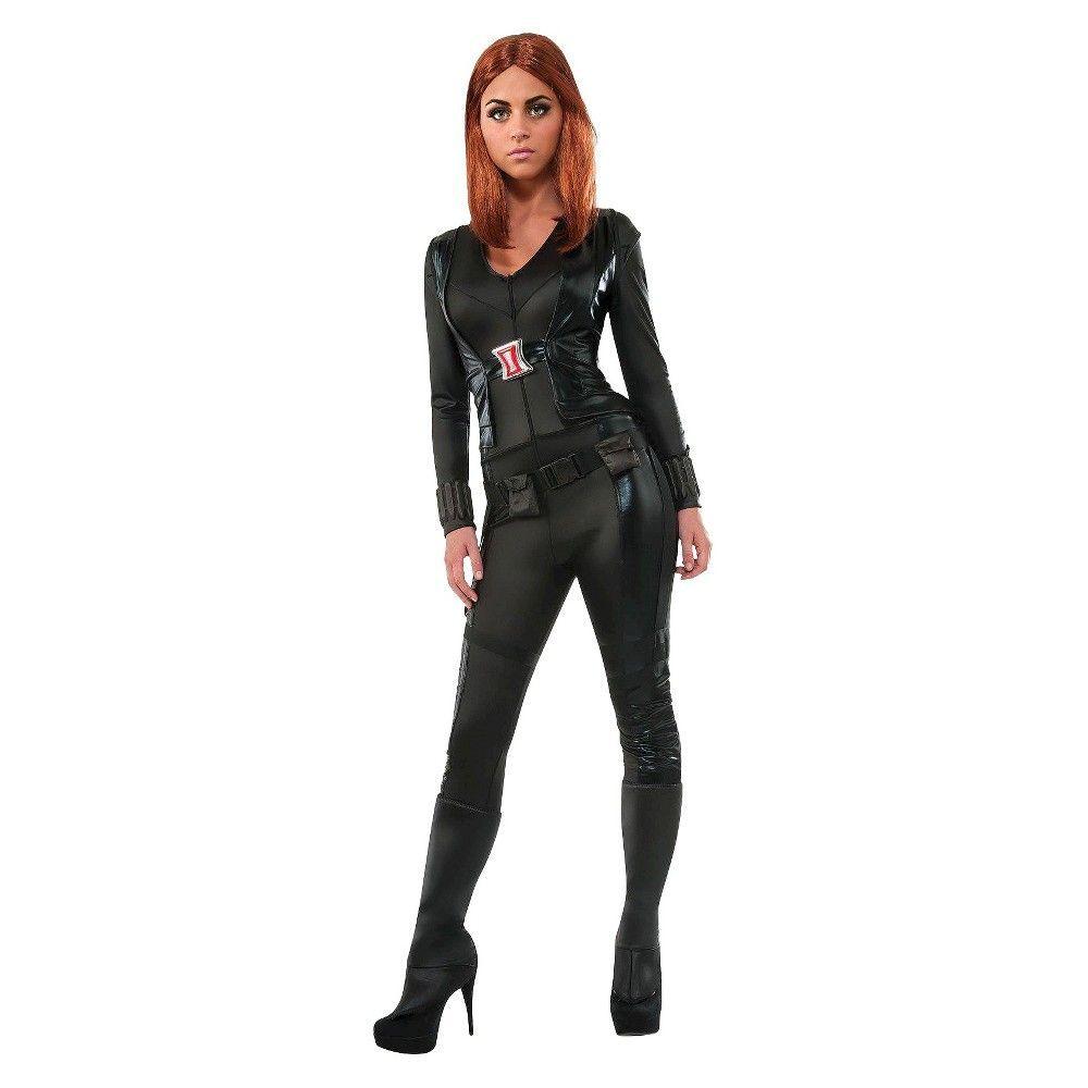 Civil War Black Widow Costume Rubies Womens Captain America As Shown