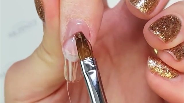 How To Sculpt Perfect Gel Extensions That Don T Lift Gel Nail Extensions Hard Gel Nails Nail Extensions