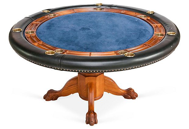 Chippendale Style Poker Table Poker Table Game Room Table