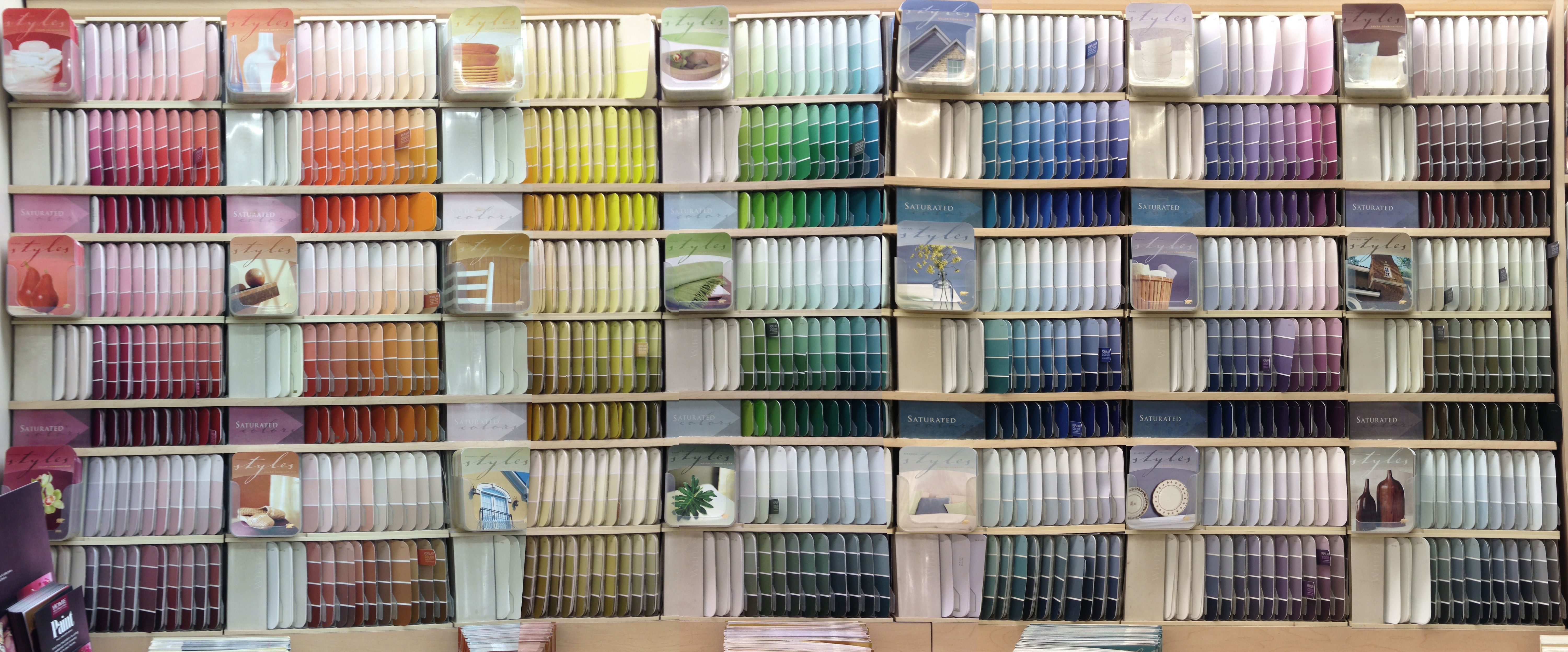 behr interior wall paint color card display at home on home depot wall paint colors id=70012