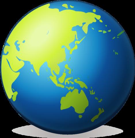 Earth Globe Asia Emoji Globe, Emoji images, Earth
