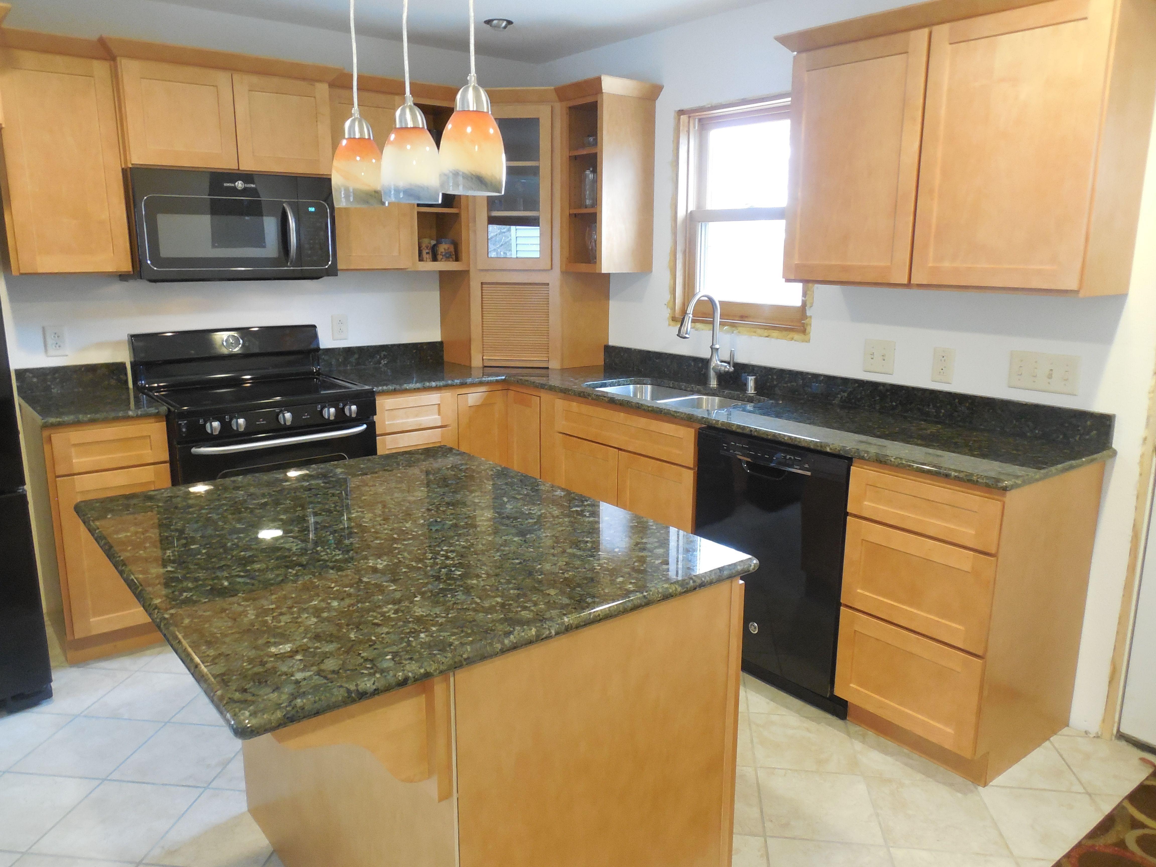 Kitchen Remodel With Bedrock Granite Countertops Rebekah L From Germantown Installation
