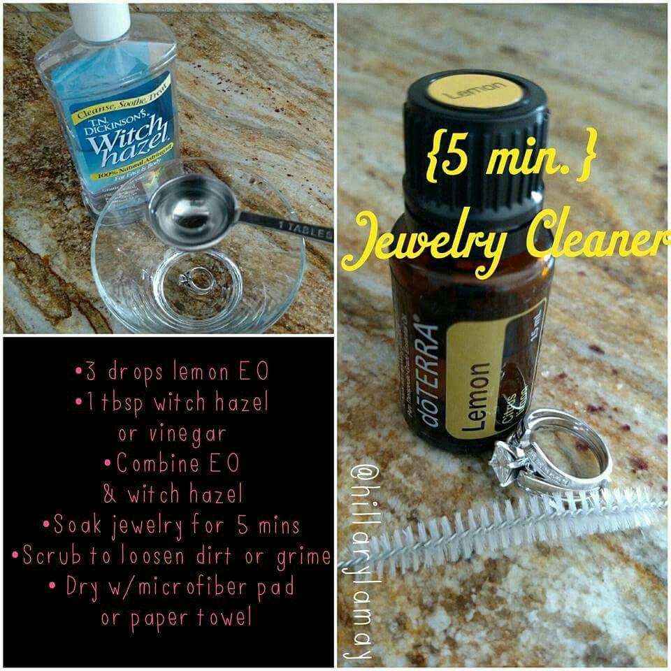 Doterra bathroom cleaner - Jewelry Cleaner