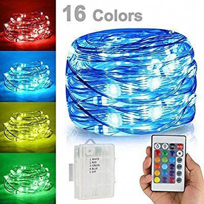 LED String Lights, Battery Powered Multi Color Changing