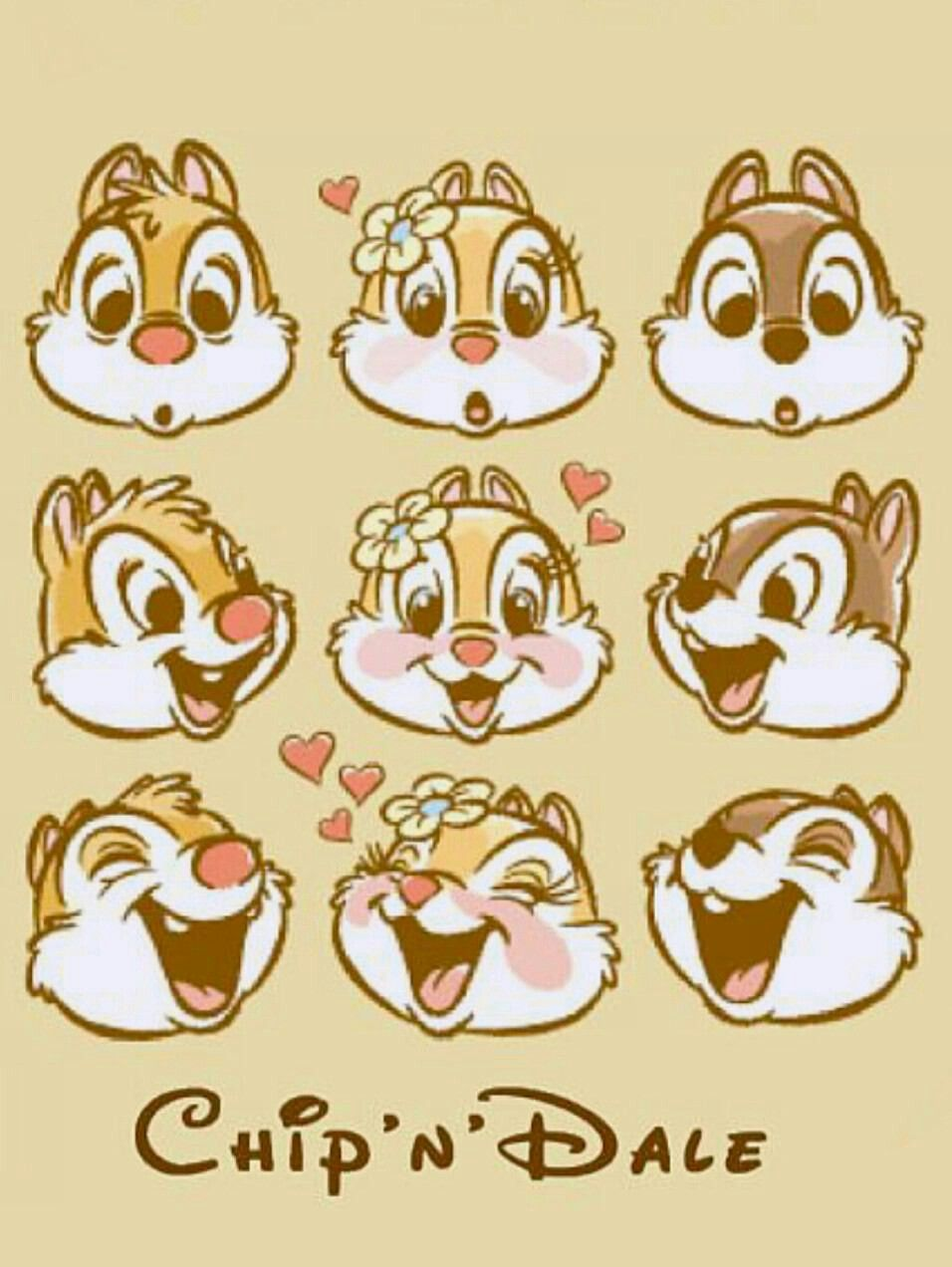 Chip et dale avec clarice disney disney drawings - Chip n dale wallpapers free download ...