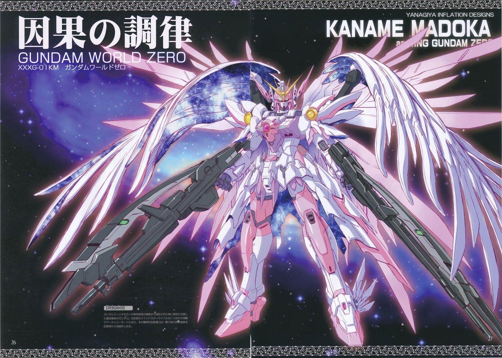 Magica Mobili ~ Gw m m gundam wing x madoka magica wallpaper size images design