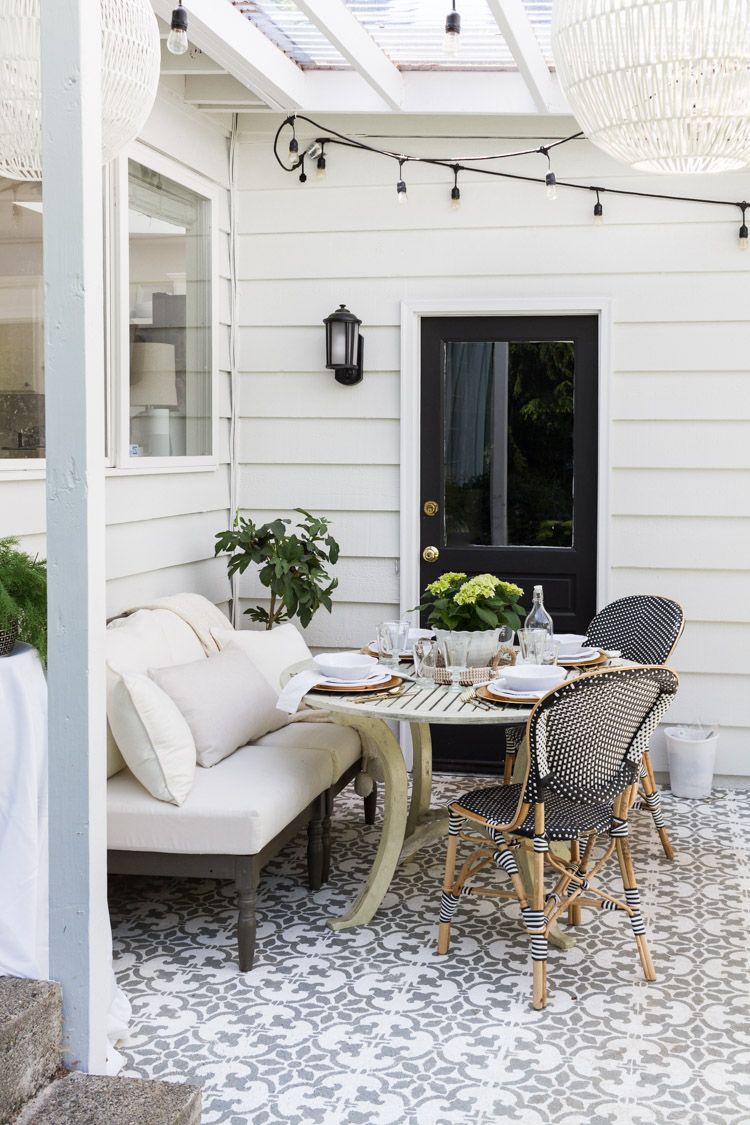 Outdoor decorating and entertaining garden outdoor living