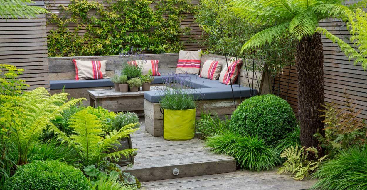 Garden Design Richmond London Garden Seating Area Urban Garden