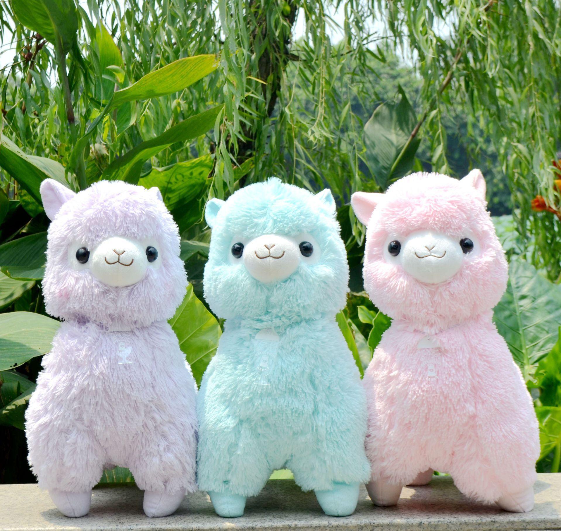 45cm Japanese Alpacasso Giant lama amuse Alpaca Plush Soft Doll ...