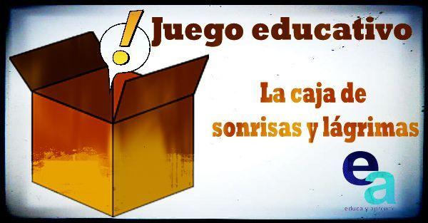 Juego educativo: La caja de sonrisas y lágrimas