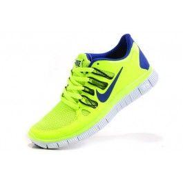 1b12893a Nike Free 5.0+ Unisexsko Grønn Blå | Nike sko tilbud | billige Nike sko på