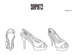 ee45809ab Resultado de imagem para desenho técnico estampa localizada | shoes