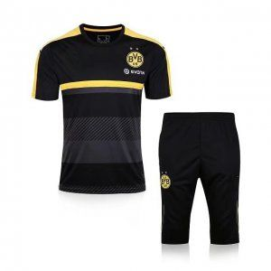 Borussia Dortmund 2017-18 Season Black Yellow BVB Training Kit [J965]