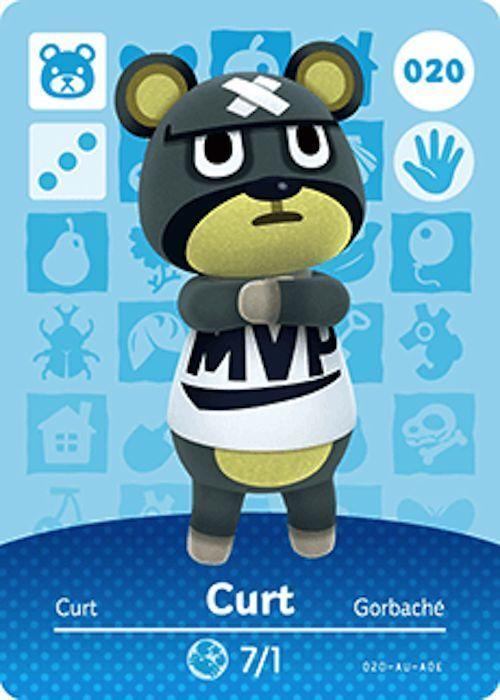 Nintendo Animal Crossing Happy Home Design Curt Amiibo