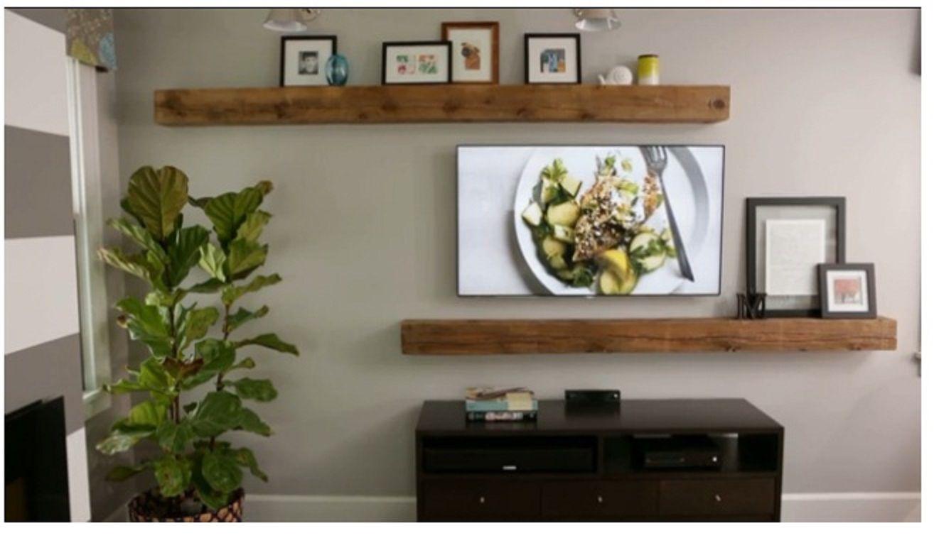 Decorating the TV wall | Decor | Pinterest | Wohnzimmer