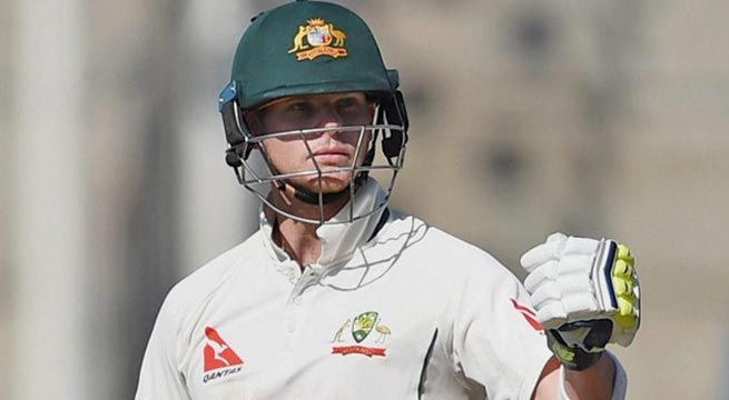 Steve Smith brings up his 19th Test century against India. Australia 272/4.   Details Awaited