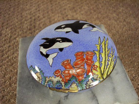 Killer Whale jewelry storage box Chinemel by B.. by ECCENTRICRON