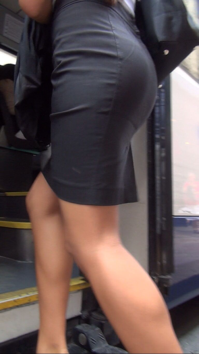 Office skirt ass