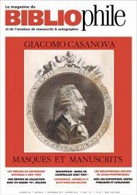 Le Magazine du Bibliophile #99 : Giacomo Casanova