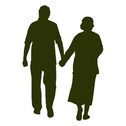 Old Couple Silhouette Ad Sponsored Affiliate Silhouette Couple Couple Silhouette Silhouette Silhouette Painting