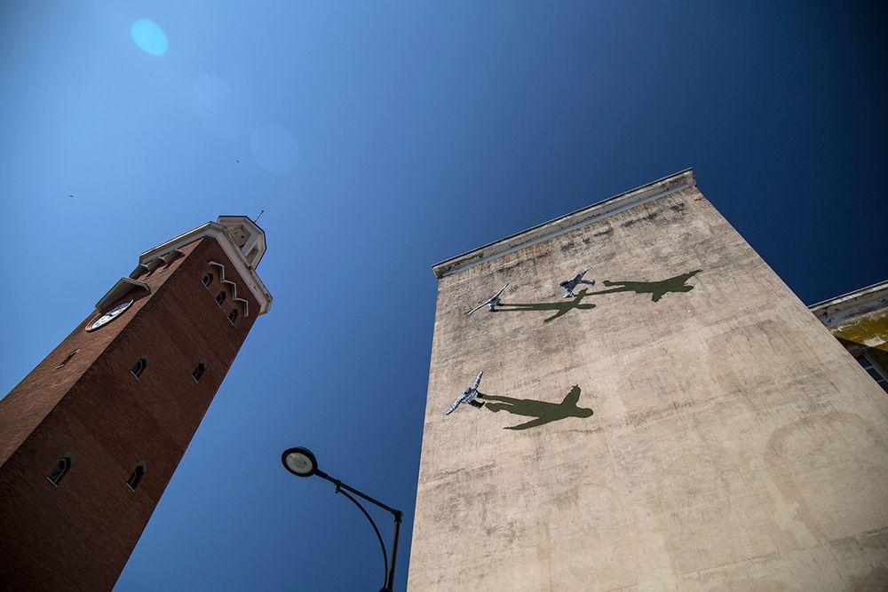 STRØK – MURAL AT MEMORIE URBANE FESTIVAL #Strøk #MemorieUrbane #Italy #mural #streetart #art