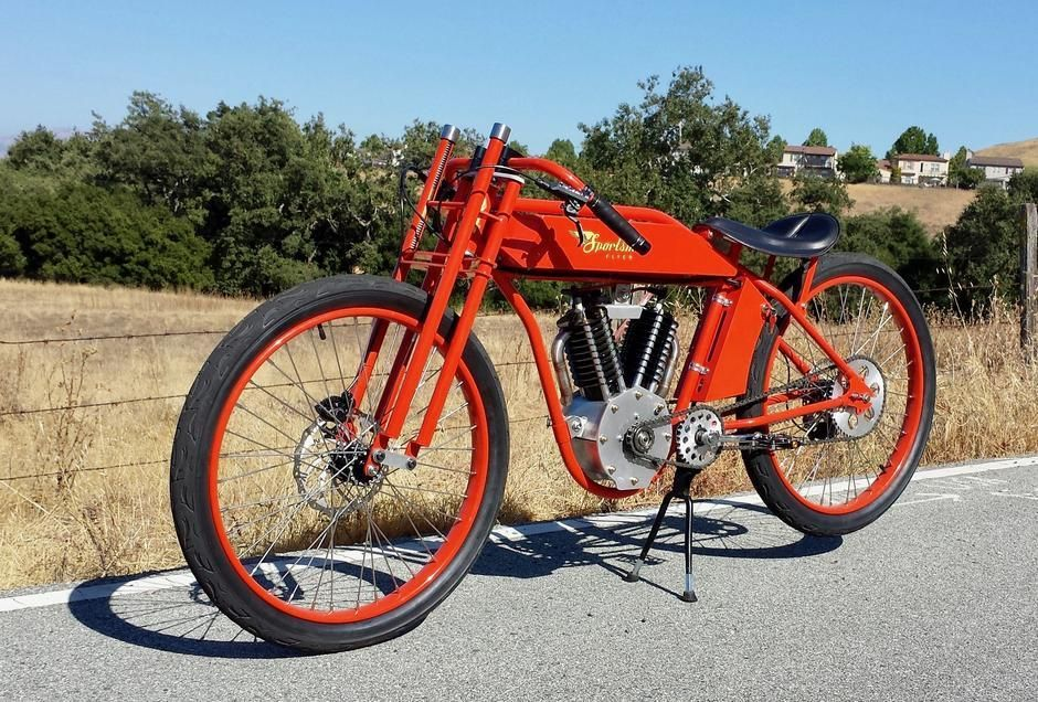 Vintage Mid Drive Electric Indian Electric Cargo Bike Electric Bike Electric Bicycle