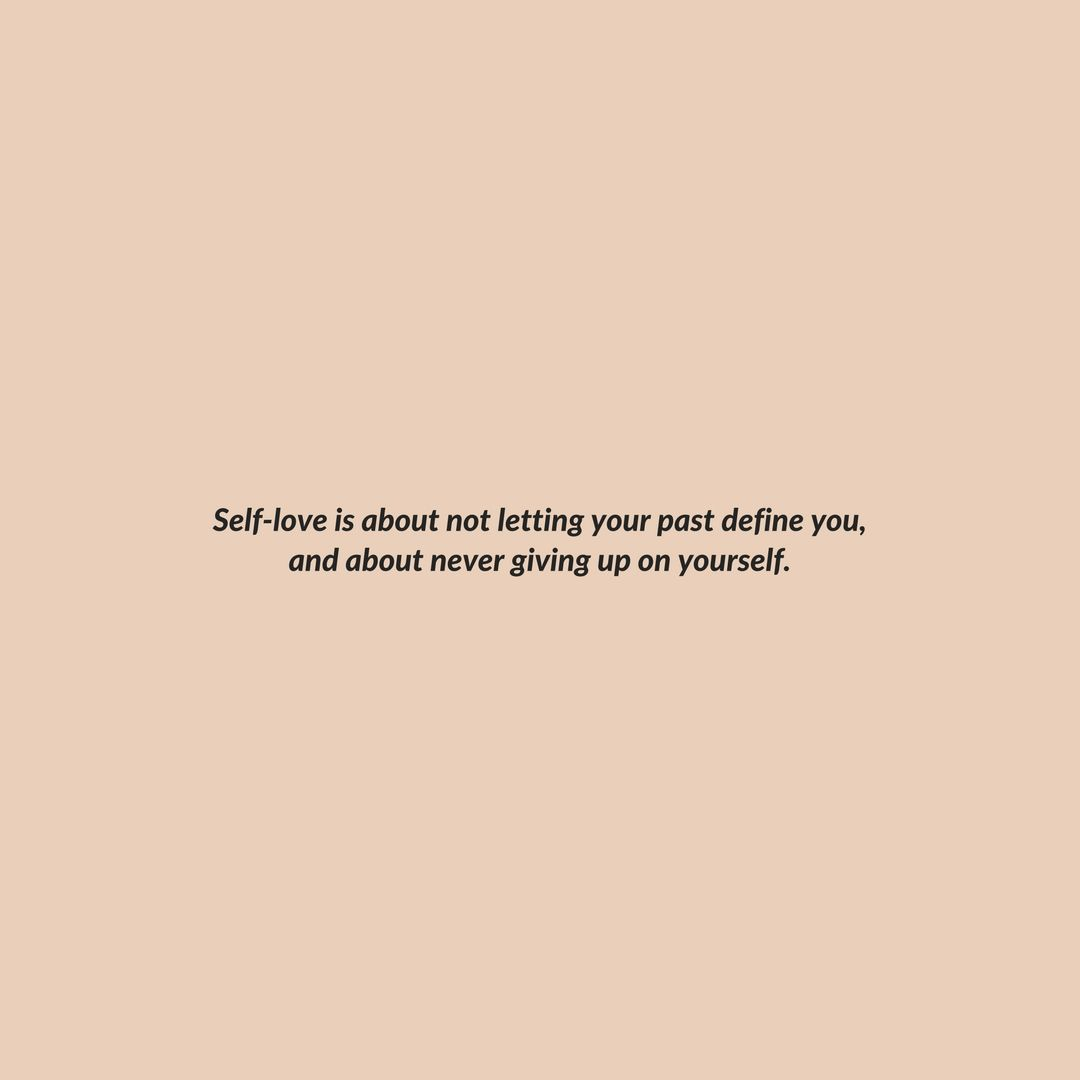 What Self Love Really Means