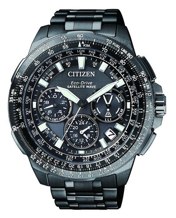 40da0ebd6bd0 Citizen Eco-Drive Satellite Wave CC9025-51E - Reloj para hombre con ...