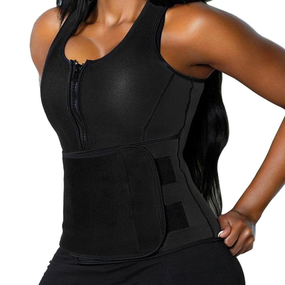Sweat vest, Waist trainer vest
